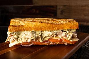 West Coast Sourdough Sacramento CA - Delectable Garlic Turkey Pesto sandwich