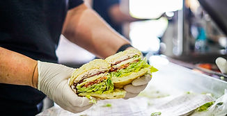 West Coast Sourdough Marconi Ave Sacramento CA Deli Sandwiches Packed with fresh ingredients