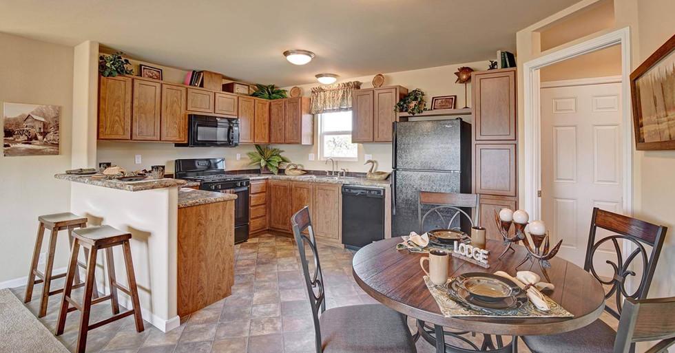 Creekside Manor Dining Room Kitchen
