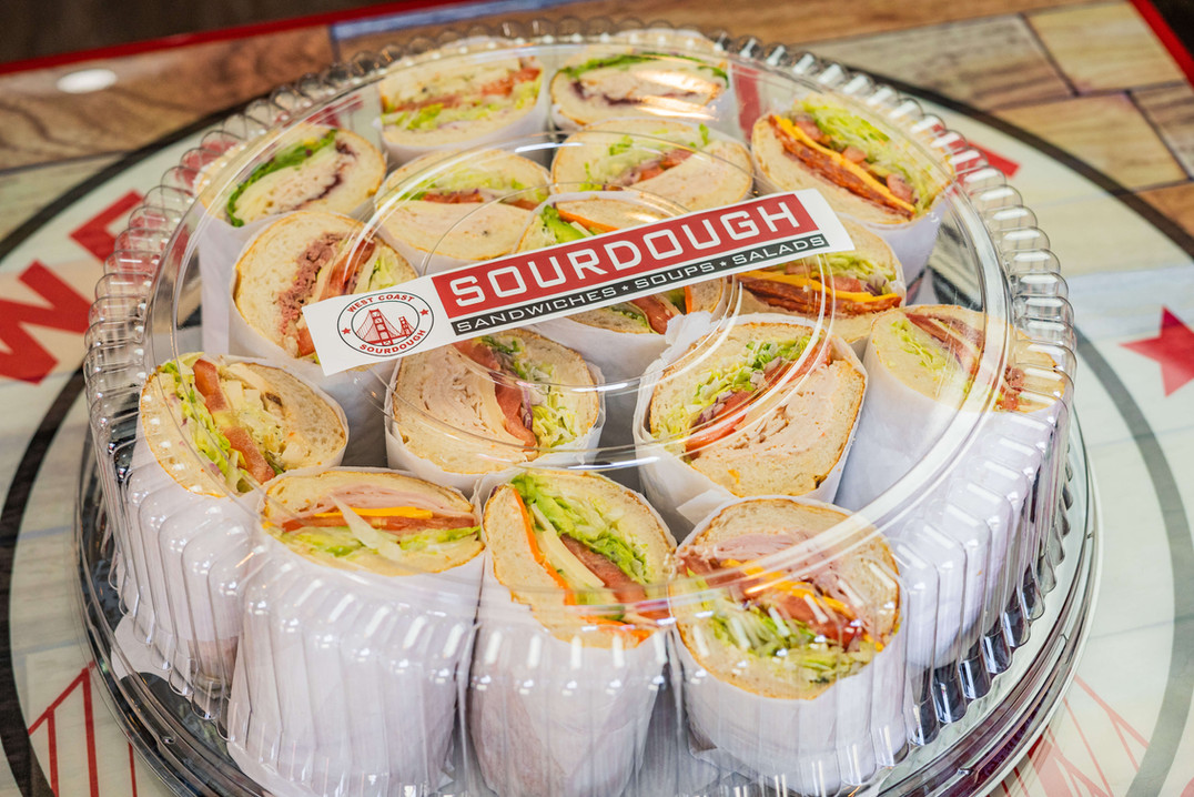 West Coast Sourdough Davis CA sandwich catering