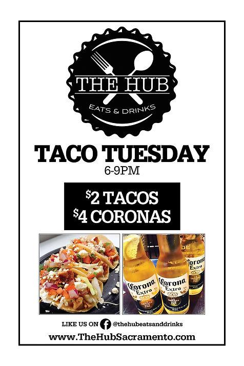 Taco Tuesdays at The Hub in Natomas