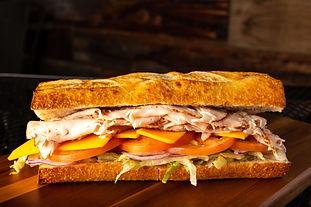 West Coast Sourdough Sacramento CA- Fresh Gourmet Turkey Sandwich