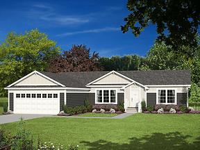 Genesis Series manufactured home floor plans, Paradise Homes