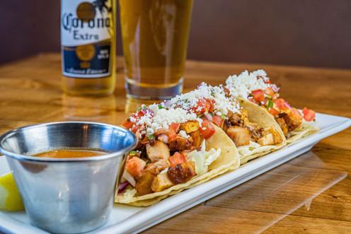 The Hub Natomas CA Packed Tacos