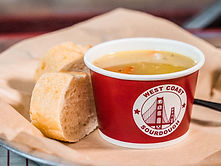 West Coast Sourdough Marconi Ave Sacramento CA Hot Chicken Noodle Soup