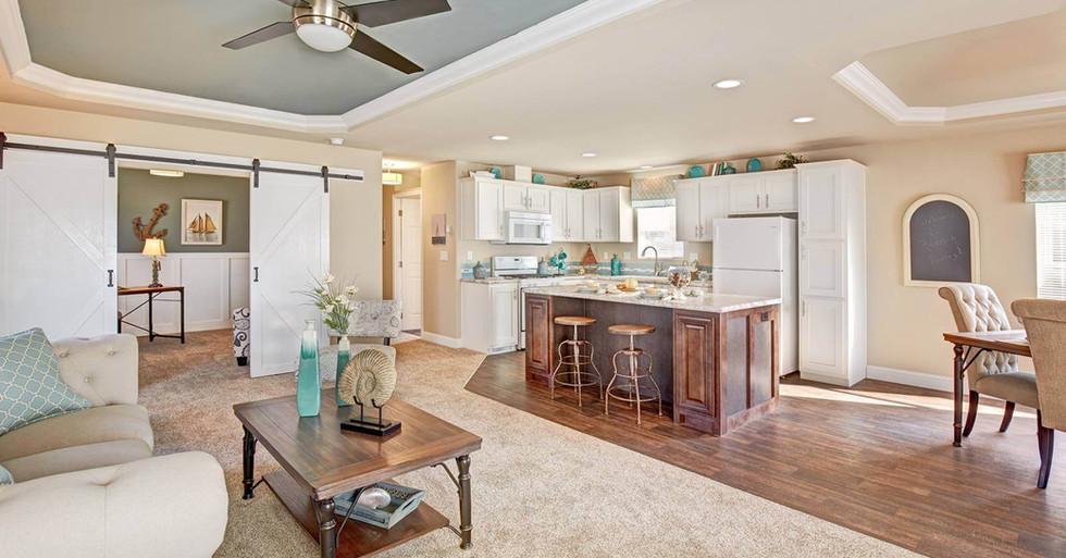 Creekside Manor Living Room/Kitchen