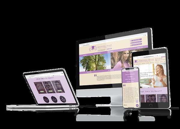 best dental website design in roseville, ca