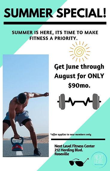 Roseville Gym 2021 Summer Special