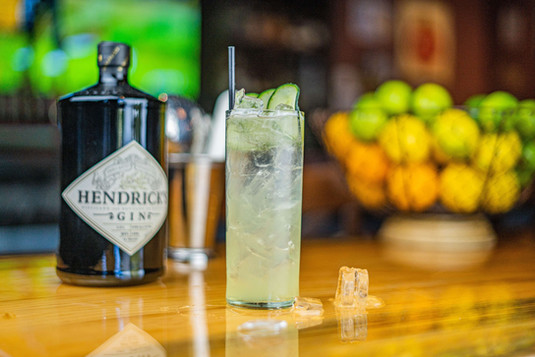 The Hub Natomas CA Refreshing and Modern Cocktail