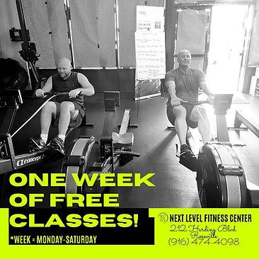 Next Level Fitness Roseville CA Free Week