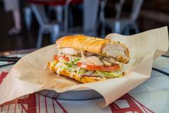West Coast Sourdough Yuba City CA chicken salad sandwich