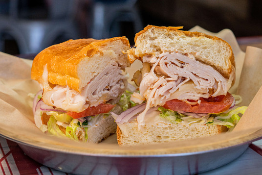 West Coast Sourdough Davis CA Deli Sandwiches Packed with fresh ingredients