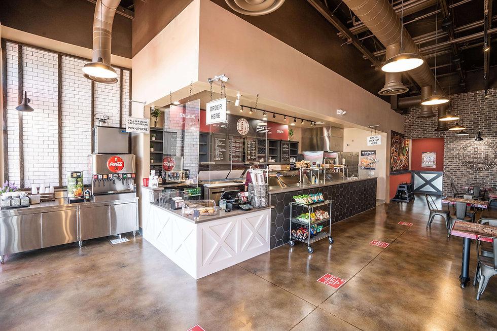West Coast Sourdough Elk Grove Blvd Elk Grove CA Clean Indoor Dining