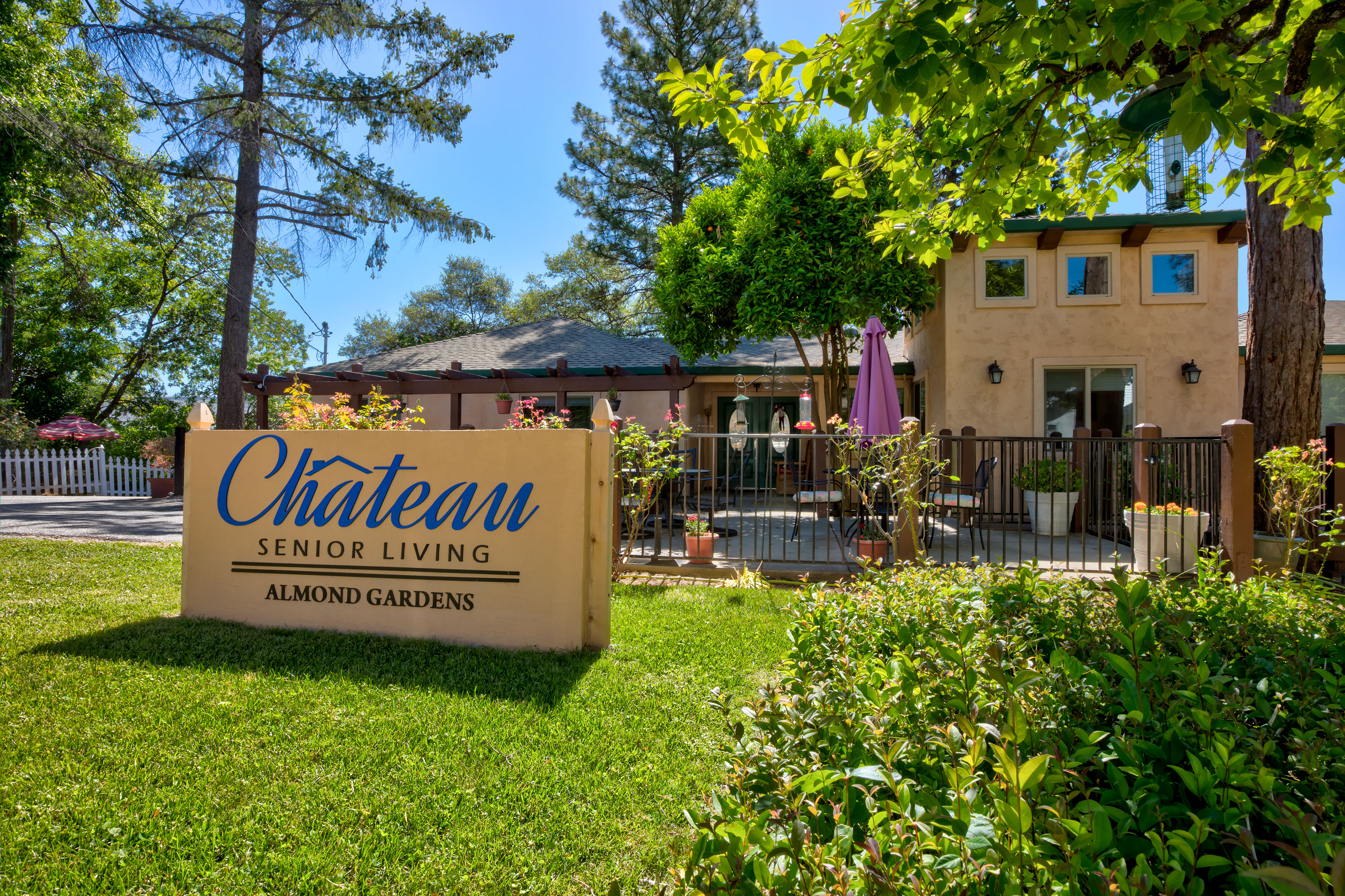 Chateau Senior Living Auburn CA Almond Gardens
