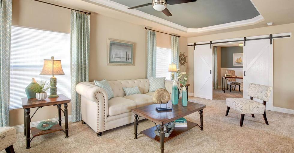 Creekside Manor Living Room