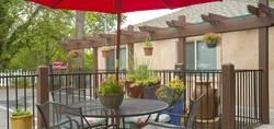 Chateau Senior Living Auburn CA Almond Gardens Outdoors