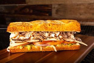 West Coast Sourdough Sacramento CA - Delicious Cracked Pepper Turkey Sandwich