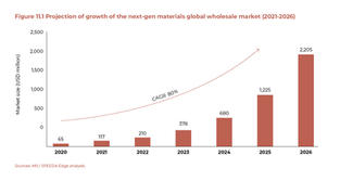 Projection of Growth of the Next-Gen Materials Global Wholesale Market