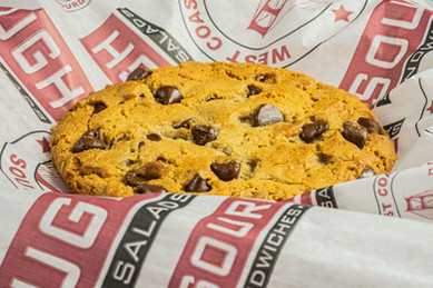 West Coast Sourdough Yuba City CA Hot and Ready Chocolate Chip Cookie