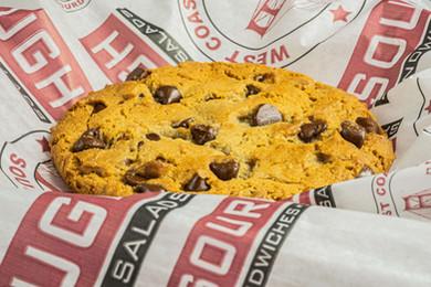 West Coast Sourdough Laguna Blvd Elk Grove CA Hot and Ready Chocolate Chip Cookie