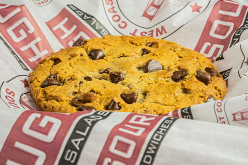 West Coast Sourdough Elk Grove Blvd Elk Grove CA CA Hot and Ready Chocolate Chip Cookie