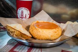 West Coast Sourdough Yuba City CA Hot Soup in a Bread Bowl