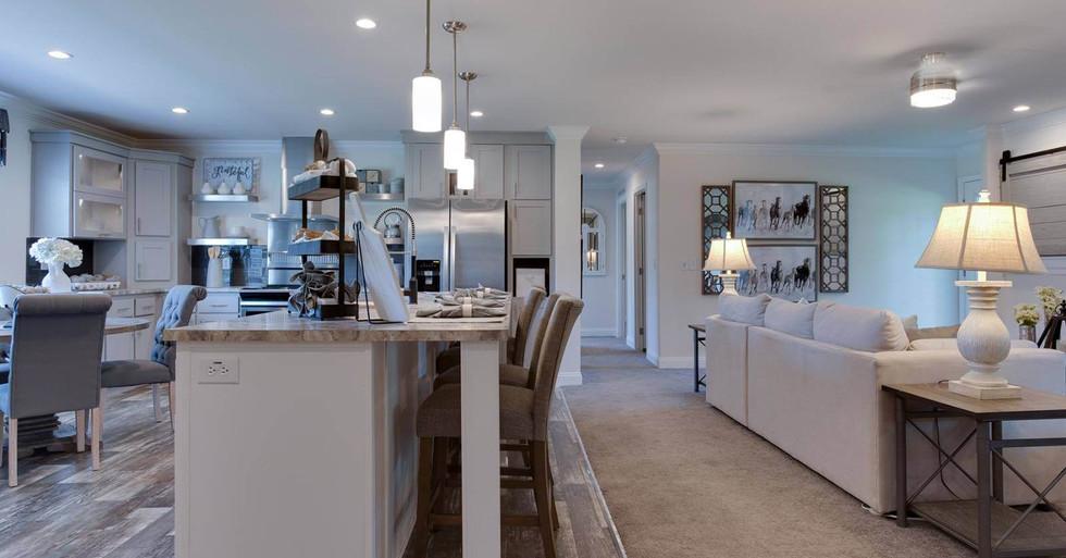 Fairfax Kitchen/Living Room