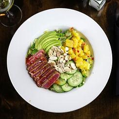 Pete's Natomas Tuna and Ahi Salad