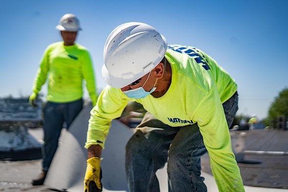 Watson Companies Inc Sacramento CA Employee Working Safely