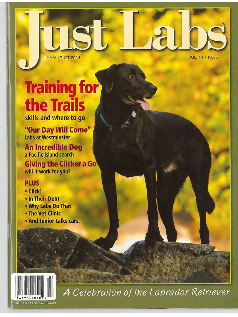 Buster Just Labs Magazine July 2014 1.jp