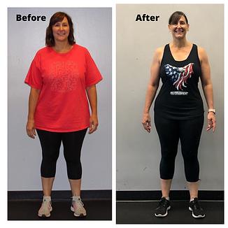 Next Level Fitness-Cristin Transformation
