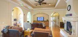 Chateau Senior Living Orangevale CA entertainment area