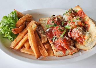 Pete's Natomas Sicilian Meatball Sandwich