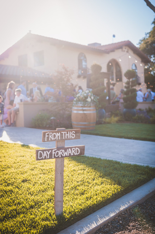 Rancho Roble From This Day Forward Sign