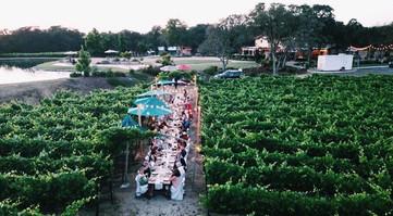Rancho Roble Event in a Garden