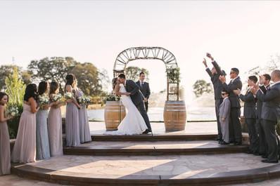 Rancho Roble Amazing Wedding Site