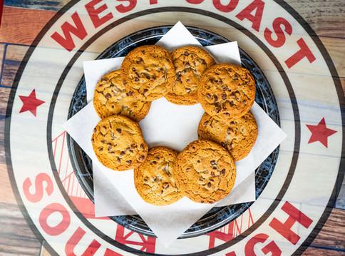 West Coast Sourdough Yuba City CA Freshly Baked Chocolate Chip Cookies