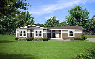 Creekside Manor Series manufactured home floor plans, Paradise Homes