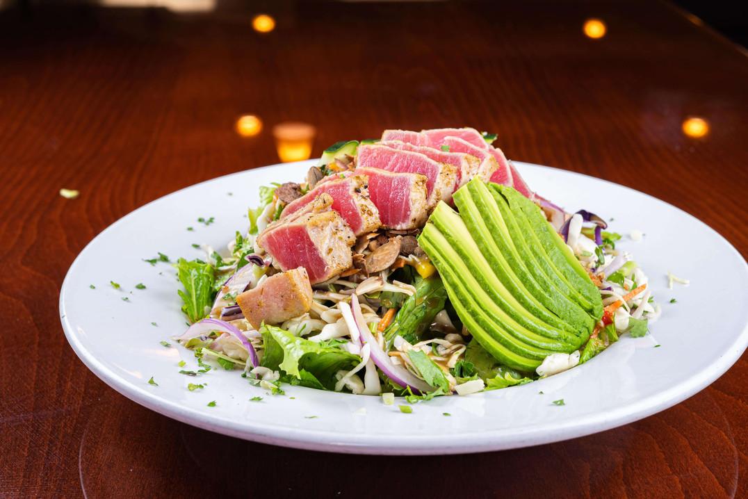 Pete's Natomas Ahi and Avocado Salad