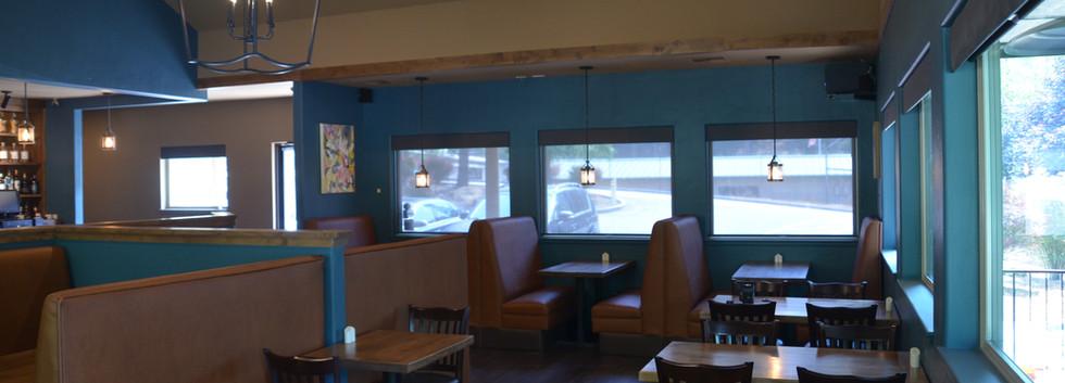 The Tin Lantern Bar & Grill. Indoor Dining. Meadow Vista, CA.