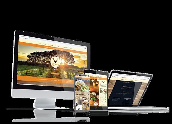 Custom website desing for restaurants in Roseville, ca
