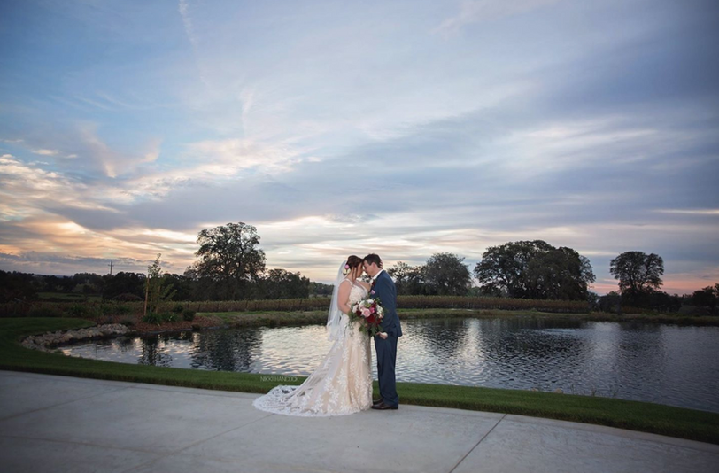 Rancho Roble Wedding Venue by Water