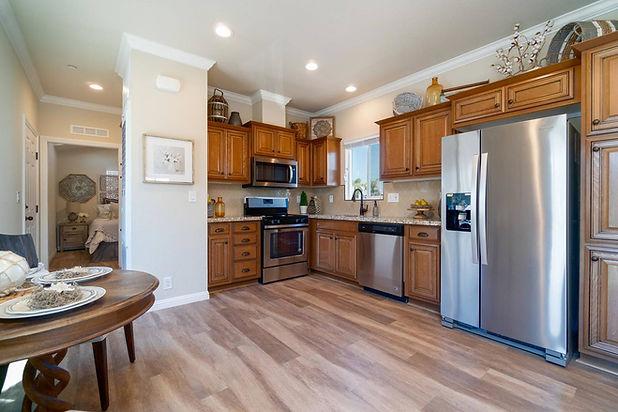 Bradford kitchen manufactured home Paradise Homes