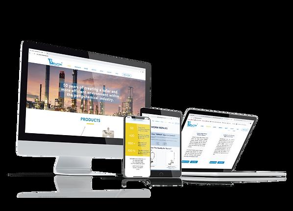 industrial company website design in sacramento ca