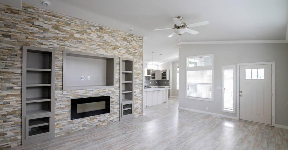 Silvercrest Craftsman Living Room