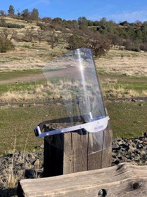 Environmentally friendly face shields