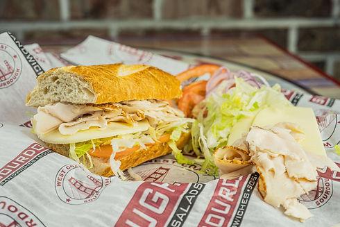 West Coast Sourdough Sacramento CAFresh Sandwich