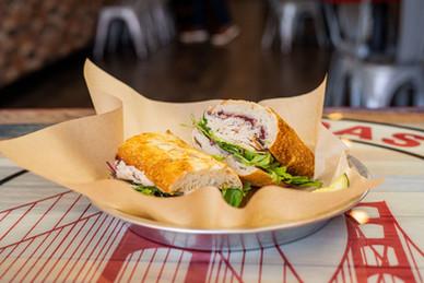 West Coast Sourdough Elk Grove Blvd Elk Grove CA the best turkey cranberry sandwich
