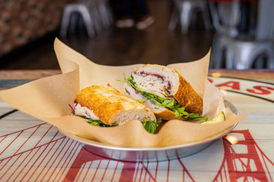 West Coast Sourdough Laguna Blvd  Elk GroveCA the best turkey cranberry sandwich