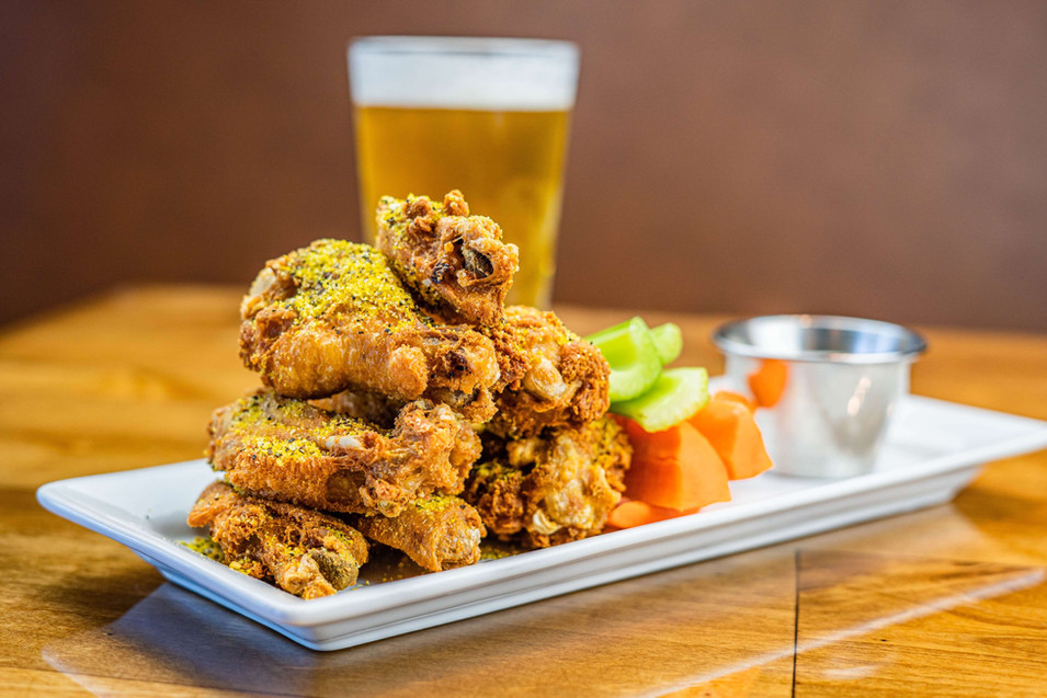 The Hub Natomas CA Tasty Drums and Wings